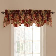 fantastic waverly country house toile red curtains house design