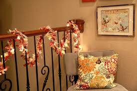 How To Decorate Banister With Garland Decorating Best Inspiring Christmas Staircase Decorations