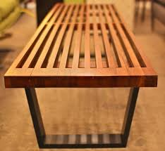 Slat Bench Coffee Table George Nelson Platform Bench Slat Bench George Nelson Style