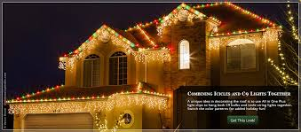 holiday time string lights christmas lights ideas for the roof