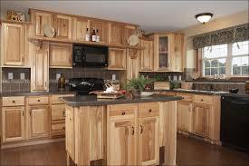 Hickory Kitchen Cabinets Home Depot Kitchen Unfinished Oak Kitchen Cabinets Glass Cabinet Doors