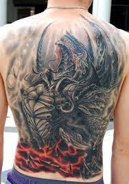 tattoo dragon full back 60 dragon back tattoo designs for men breath of power dragons