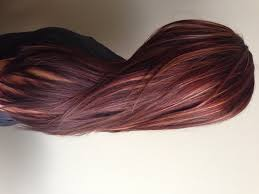 Red Hair Color With Highlights Pictures Dark Auburn Hair Color With Caramel Highlights Hairstyle Picture