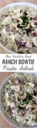 Pasta Salad Recipes Cold by Best 25 Bowtie Pasta Salads Ideas On Pinterest Mediterranean