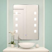 Lighted Bathroom Mirror by Lighted Bathroom Mirrors Ebay