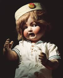 halloween scary vintage dolls featured
