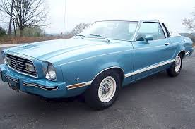 1977 ford mustang light aqua blue 1977 ford mustang ii ghia coupe mustangattitude