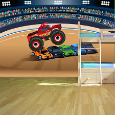 monster truck wall murals wall murals u0027ll love