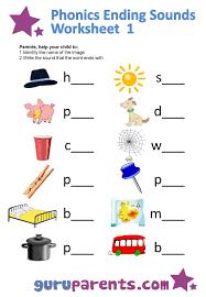 beginning and ending sounds worksheets worksheets