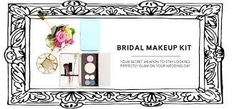 bridal makeup kit a perfect wedding day accessory u2013 dollup beauty