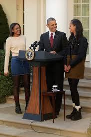 national thanksgiving turkey obama girls shine at turkey pardon news one