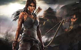 halloween background tombs http cdn pcwallart com images lara croft tomb raider wallpaper 2