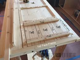 How To Make Kitchen Cabinet Doors From Plywood by Ana White Diy Apothecary Style Kitchen Cabinets Diy Projects