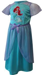 Ariel Clothes For Toddlers Disney Princess Ariel Satin And Glitter Toddler Nightgown