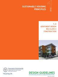 Sustainable Apartment Design Design Guidelines Sustainable Housing Principles 1 3 Apartment