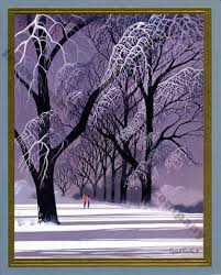 eyvind earle christmas cards these gnarly aching limbs so much artsy fartsy