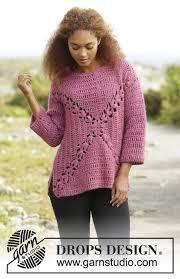 s sweater patterns sweter drops przerabiany po kwadracie z wzorem wachlarzy z