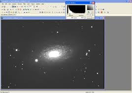 sunflower galaxy astrophotography image processing example m63 sunflower galaxy