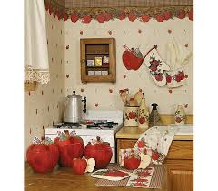 Blonder Home Country Apple Kitchen Decorating Theme