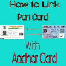 pan card how to link pan card with aadhar u2013 2 aasan tarike naya seekhon