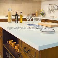 cuisine pratique et facile facile à nettoyer pratiqueuniforme corian artificielle