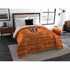 nfl cincinnati bengals twin full bedding comforter walmart com