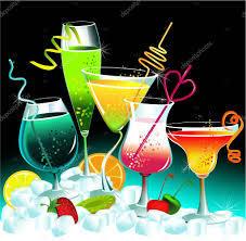 rainbow cocktail drink rainbow drinks u2014 stock vector agnieszka 6750135