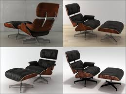 furniture awesome eames lounge chair ottoman replica eames and