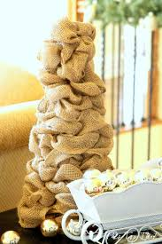 diy burlap trees tree 1 duke manor farm