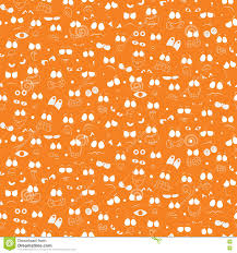 happy halloween seamless wallpaper pattern stock vector image
