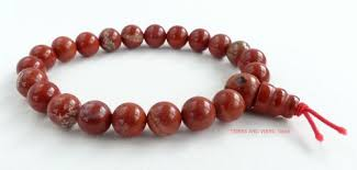 red beads bracelet images Red jasper bracelet crystal power beads wrist mala healing jewellery jpg