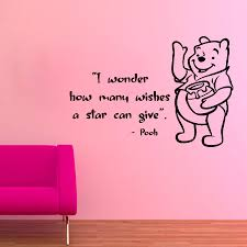 Nursery Quotes Wall Decals by Winnie The Pooh Wall Decals Children Quotes I Wonder How Many