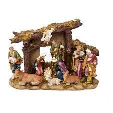 kurt adler 11 figures and stable nativity set reviews