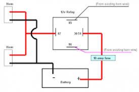 3 pin horn relay wiring wiring diagram