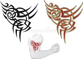 maori tattoo design stock image image 23314261