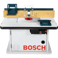 Shop Bosch 15 Amp Adjustable Router Table At Lowes Com