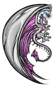 dragon angel tattoo completed neon skies studio