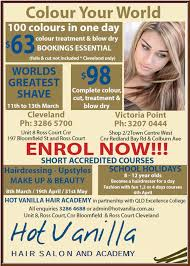 partnership in hair salon hot vanilla hair salon hairdressers truelocal
