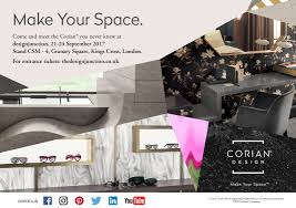 Buy Corian Online The New Aesthetics Of Corian Will Make Their Uk Debut At
