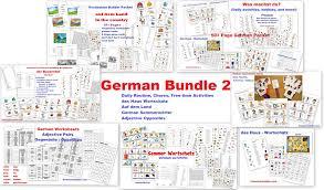 Free Time Worksheets Sommer Wortschatz U2013 German Worksheets And Activities Homeschool Den