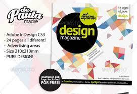 50 indesign u0026 psd magazine cover u0026 layout templates web