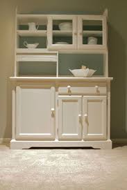 simple white kitchen hutch traditional displays gorgeous