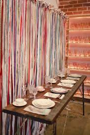 Best Fabric To Use For Curtains 9 Best Fabric Strip Curtains Images On Pinterest Fabric Strip