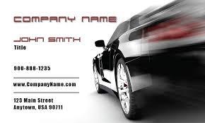 racing car auto dealer business card design 501201