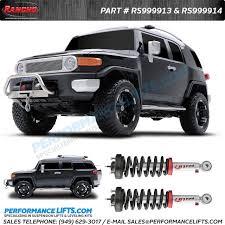 toyota tacoma rancho lift rancho quicklift loaded fits 2007 2014 toyota fj cruiser models