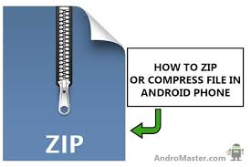 how to unzip files on android how to unzip or compress file in android phone fast andromaster