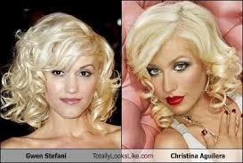 Christina Aguilera Meme - gwen stefani totally looks like christina aguilera cheezburger