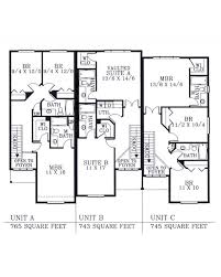 Triplex House Plans Triplex House Plans For Narrow Lots Home Design And Style