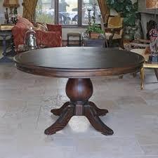 Circular Dining Room Tables - farmhouse dining tables birch lane