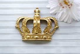 Crib Canopy Crown by Princess Crown Gold Crown Nursery Crown Canopy Crown Decor